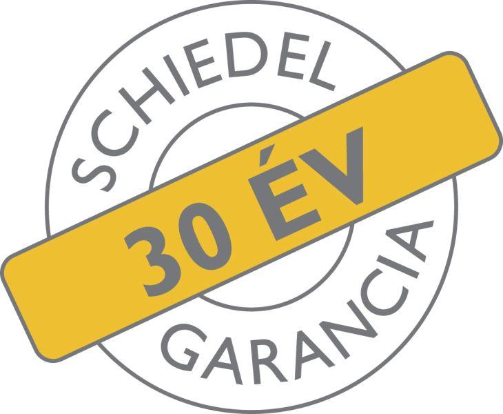 30 év garancia logó