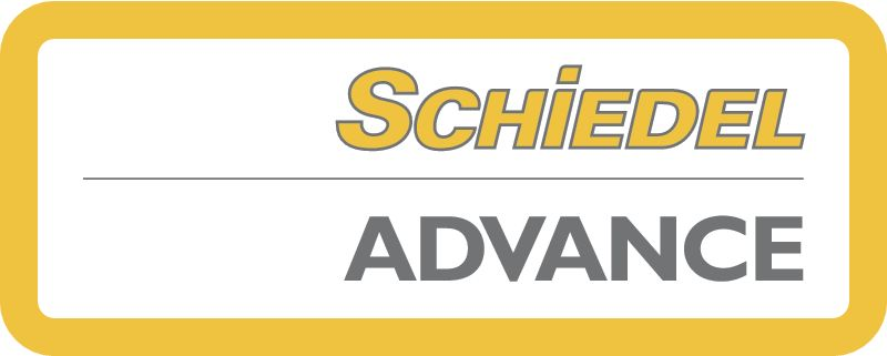Schiedel Advance kémény logó