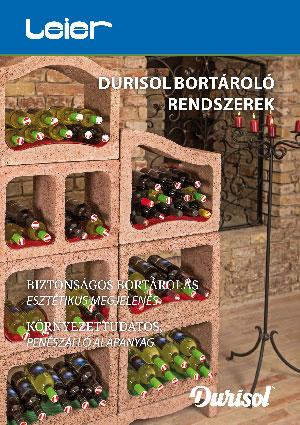 Durisol bortároló rendszerek