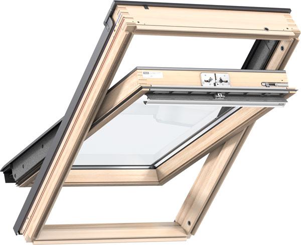 VELUX Standard Plus - billenő tetőtéri ablak