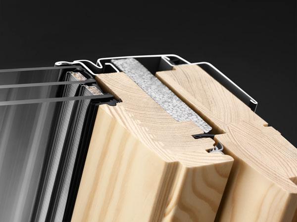VELUX Standard Plus - billenő tetőtéri ablak GLL 1061