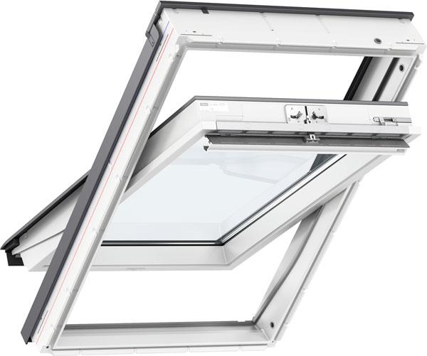 VELUX Standard Plus - billenő tetőtéri ablak GLU 0061