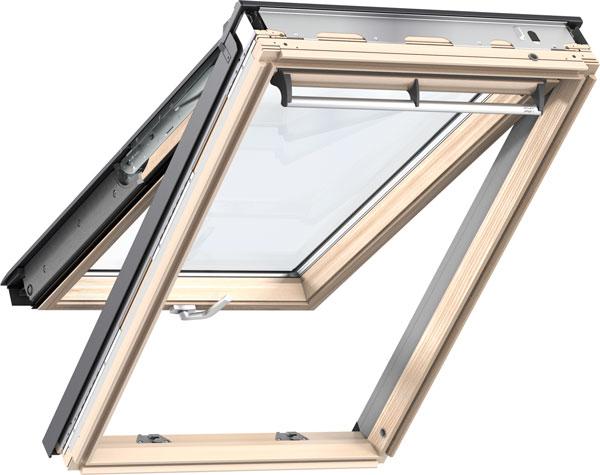 VELUX Premium alsó-felső kilincses panoráma tetőtéri ablak