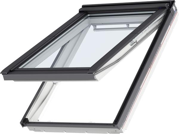 VELUX Premium alsó-felső kilincses panoráma tetőtéri ablak - GPU