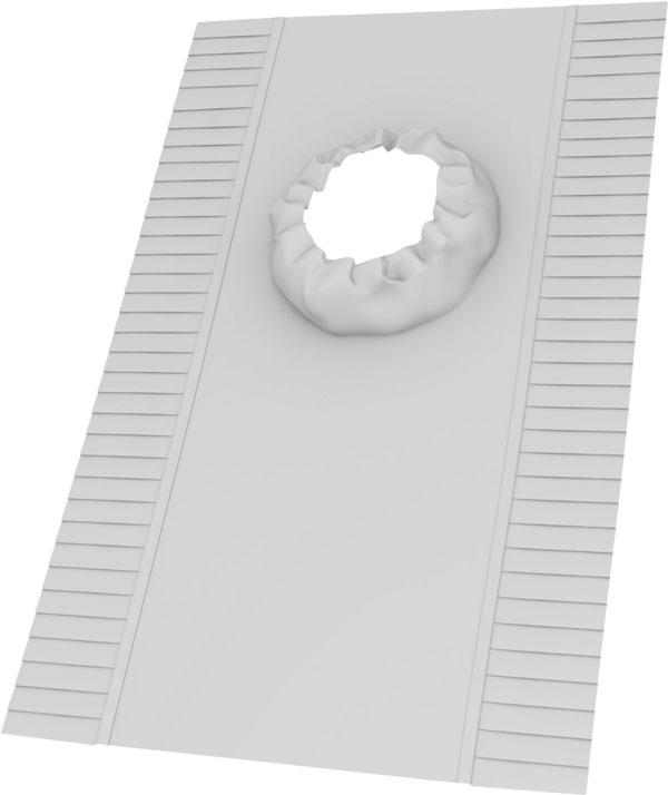 VELUX alátétfólia fénycsatornához - BFX