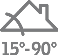 VELUX Standard Plus - billenő tetőtéri ablak GLL