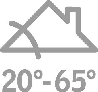VELUX GVT tetőkibúvó ablak